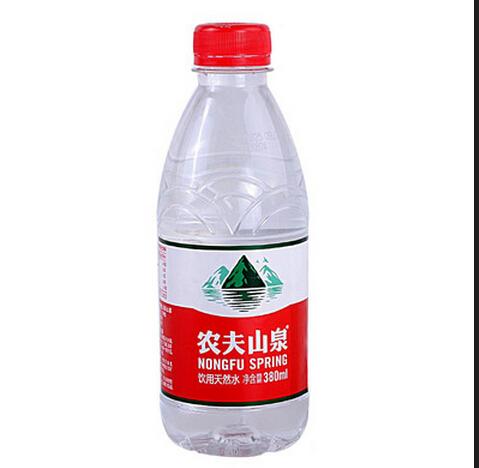Étiquettes de bouteilles d'eau